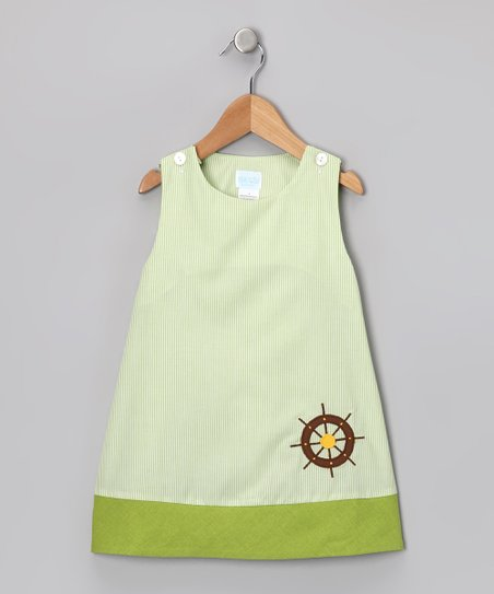 Green Helm Jumper - Infant, Toddler &amp; Girls