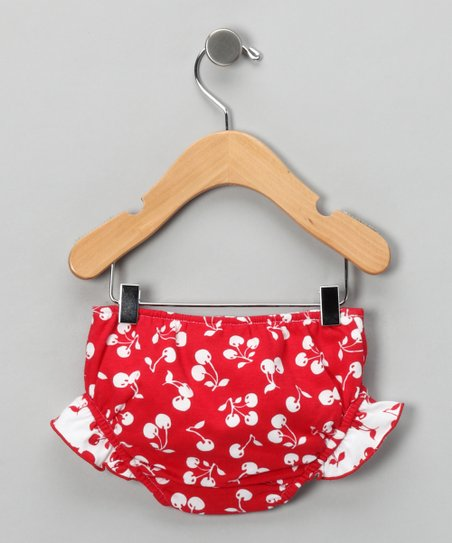 Red Chi Chi Cherry Swim Diaper - Infant