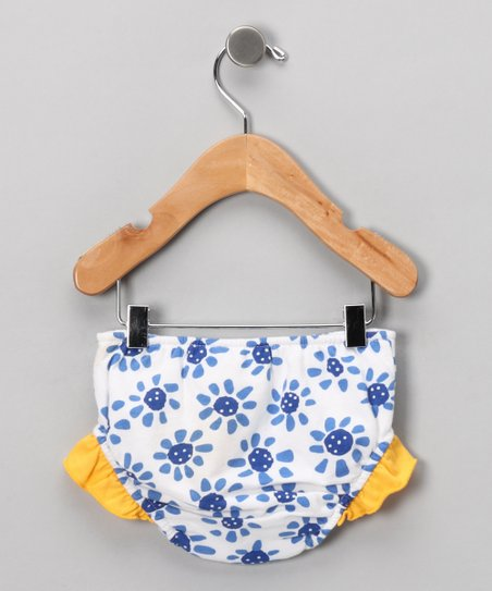 Blue Daisy Days Swim Diaper - Infant