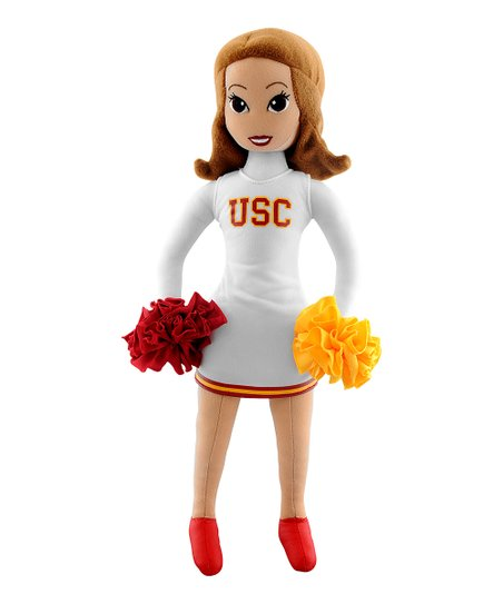 Bleacher Creatures USC Cheerleader Plush Doll