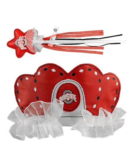 Ohio State Buckeyes Princess Tiara & Wand Set