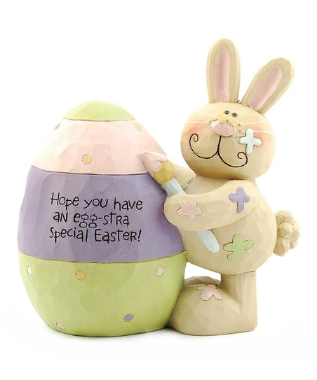 'Egg-stra Special Easter' Bunny Collectible
