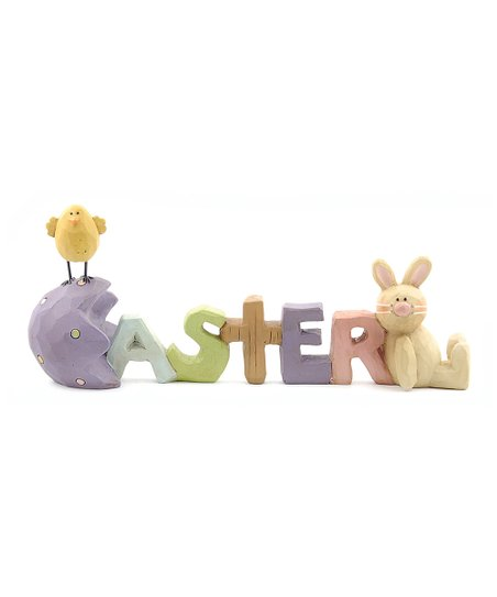 'Easter' Bunny & Chick Collectible