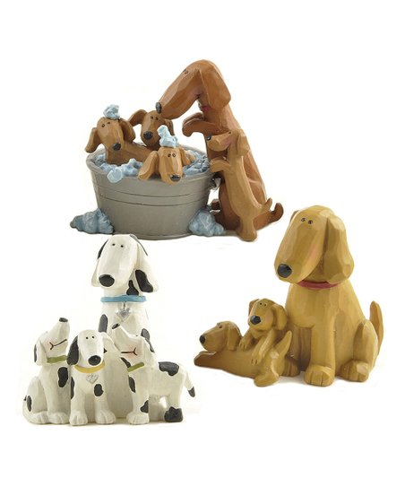 Dog &amp; Pup Collectible Set
