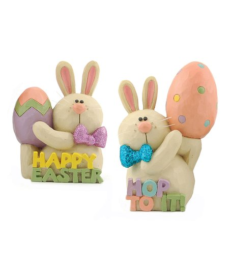 Happy Easter Bunny Collectible Set