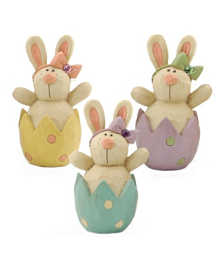 Bunny Easter Egg Collectible Set