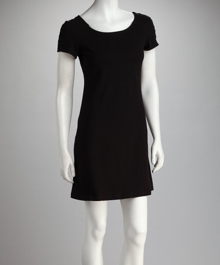 Blue Canoe Black SporTee Organic T-Shirt Dress