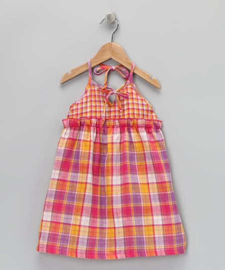 Pink Plaid Jenny Dress - Infant, Toddler & Girls
