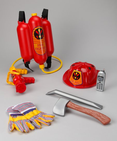 Firefighter Large Accessory Set