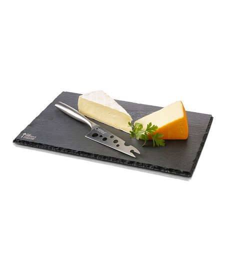 Large Slate Cheese Board & Knife