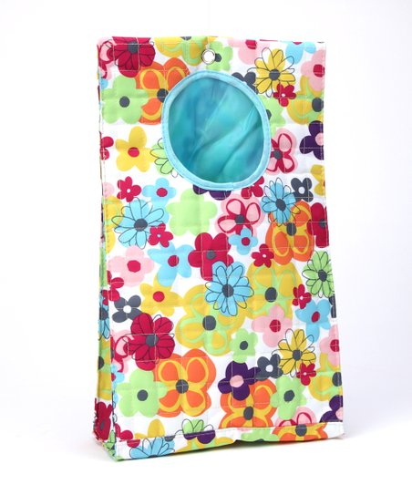 Watercolor Large Plastic Bag Keeper