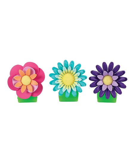 Flower Garden Magnetic Clip Set