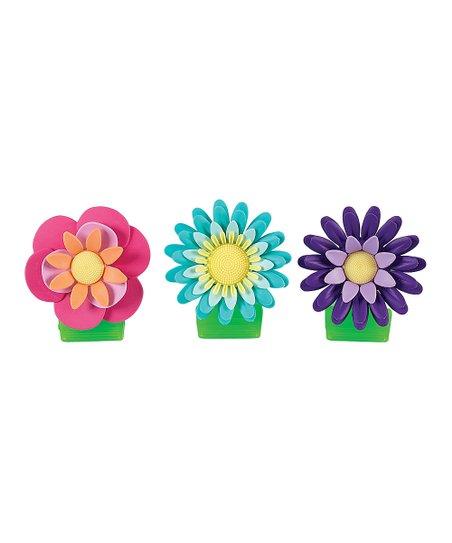 Flower Garden Magnetic Clip Set