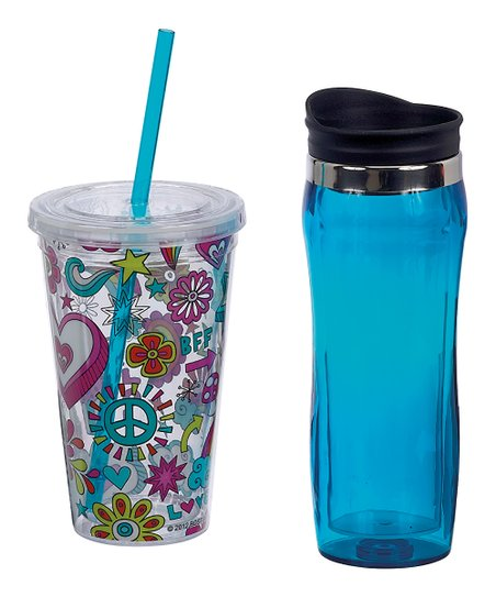 Doodles Hot &amp; Cold Hydration Set