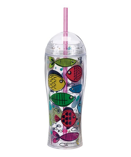 Something's Fishy 16-Oz. Insulated Tumbler