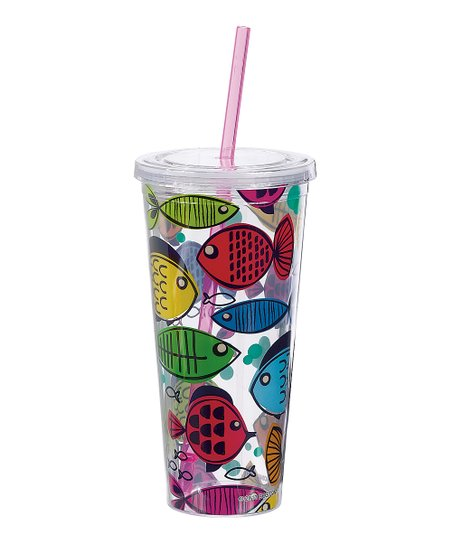 Something's Fishy 22-Oz. Insulated Tumbler