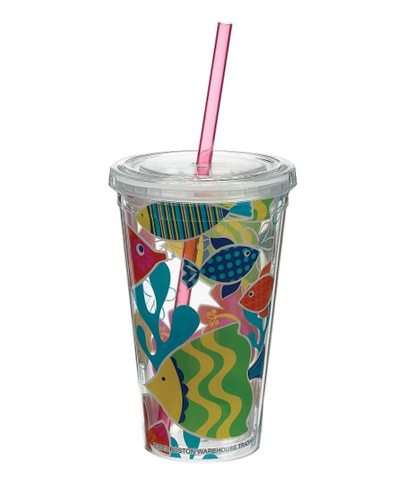 Under the Sea 16-Oz. Insulated Lidded Tumbler