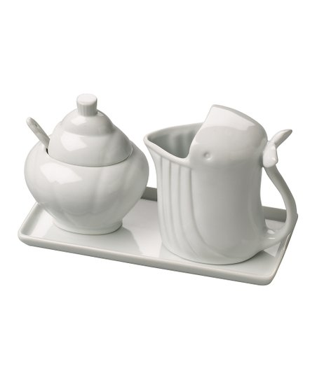 Boston Warehouse Whale Zoology Cream & Sugar Set