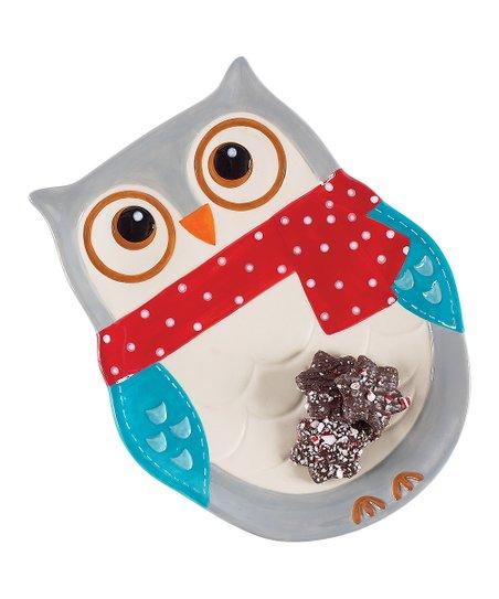 Snowy Owl Platter