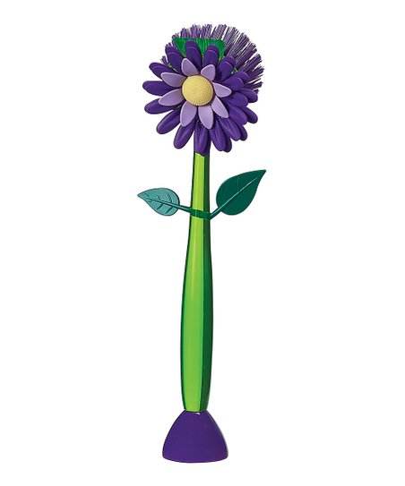 Plum Flower Garden Standing Kitchen Brush
