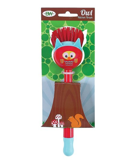 Red Owl Kitchen Brush