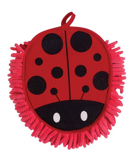 Ladybug Microfiber Dusting Mitt