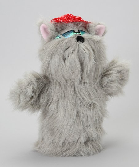 Gray Cat Golf Head Cover