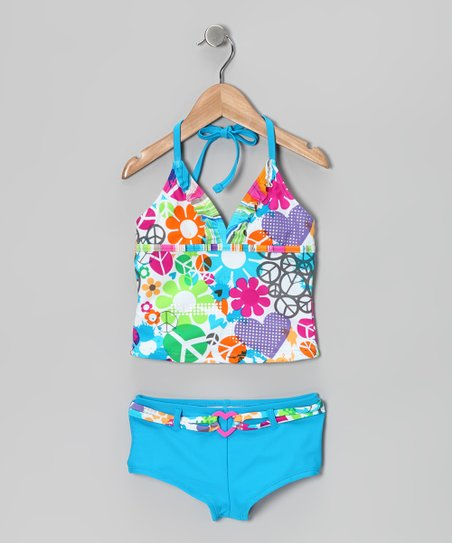 Ocean Peace Party Tankini