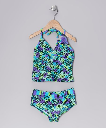 Tropical Splash Tankini