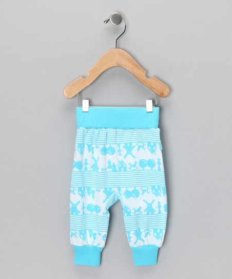 Blue Heidi Organic Pants - Infant & Toddler