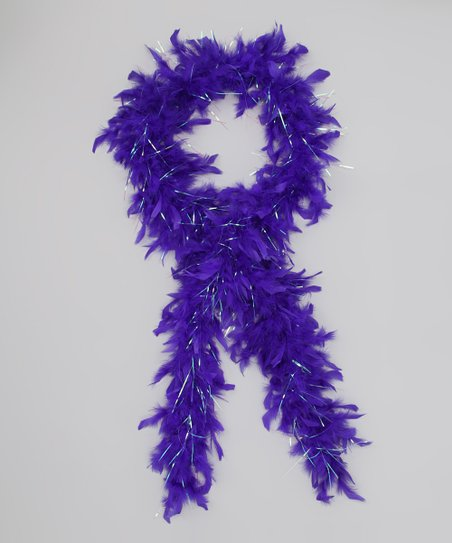 Bubblegum Diva Royal Blue Feather Boa