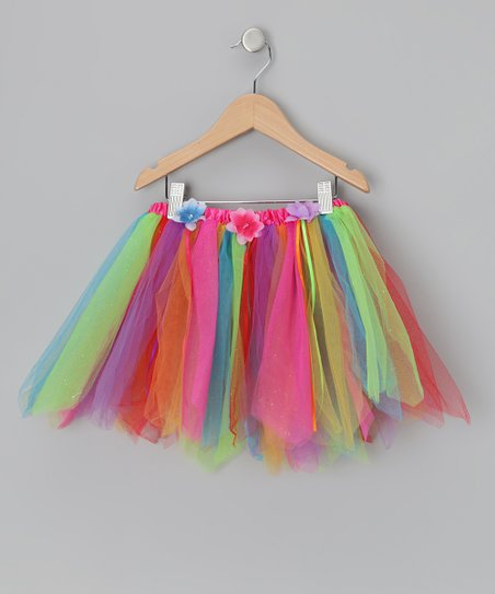 Rainbow Ribbon Tutu