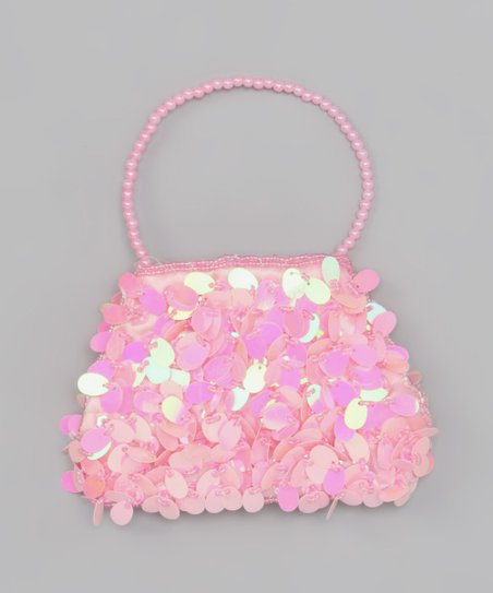 Pink Fancy Paillette Purse