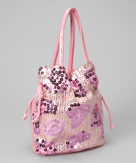 Pink Sequin Purse