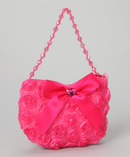 Pink Rosette Purse