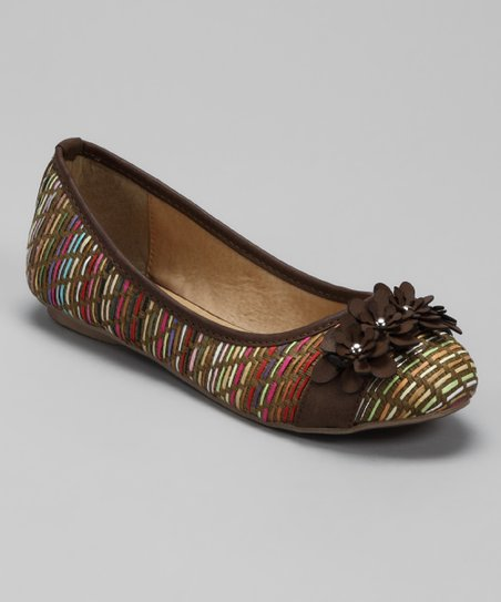 Brown Elle Flat