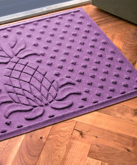 Purple Diamond Pineapple Aqua Shield Doormat