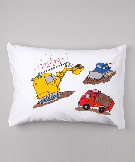 Trucks Personalized Standard Pillowcase