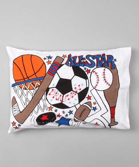 'All-Star' Personalized Toddler Pillow
