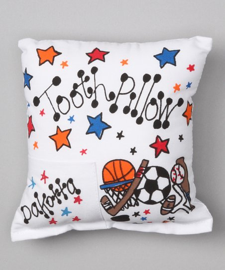 Sports Personalized Tooth Pillow