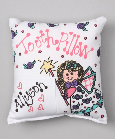 Angel Personalized Tooth Pillow