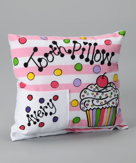 Cupcake Personalized Tooth Pillow
