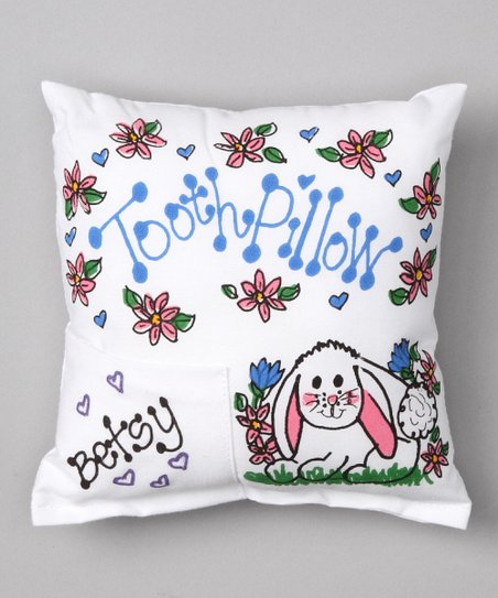 Bunny Personalized Tooth Pillow