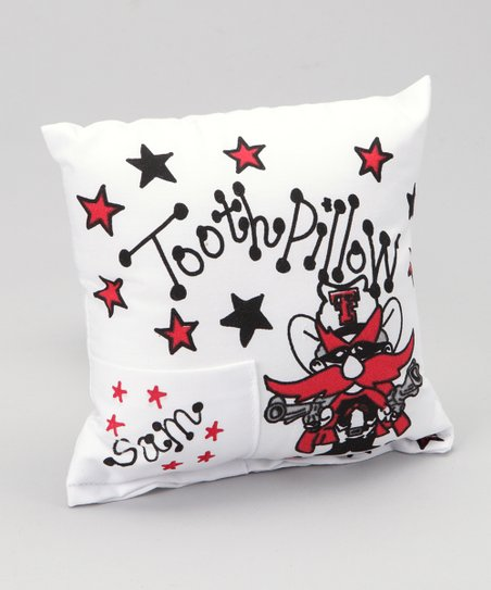 Texas Tech Personalized Tooth Fairy Pillow