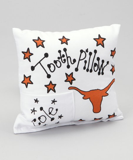 University of Texas Personalized Tooth Fairy Pillow
