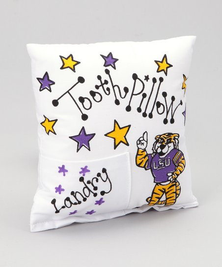 Louisiana State University Personalized Tooth Fairy Pillow