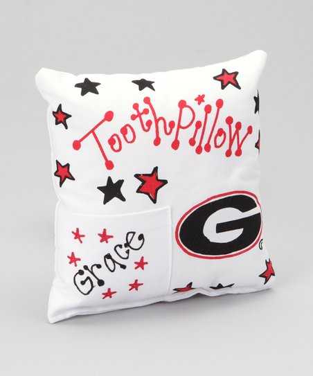 Georgia Personalized Tooth Fairy Pillow
