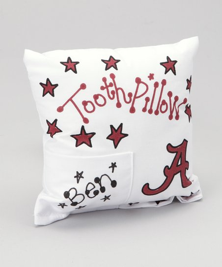 Alabama Personalized Tooth Fairy Pillow