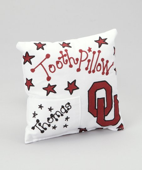 Oklahoma Personalized Tooth Fairy Pillow