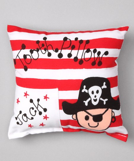 Pirate Personalized Tooth Pillow